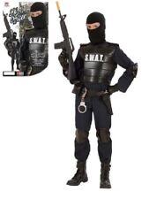 Costume Carnevale Swat Travestimento Polizia Corpi Speciali PS 19818