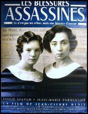 LES BLESSURES ASSASSINES Affiche Cinéma / Movie Poster SYLVIE TESTUD