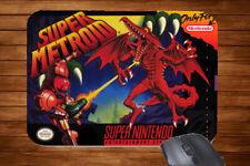 Retro Gaming Inspired Mouse Mat Snes Super Nintendo Donkey Kong Alien Mario Gift