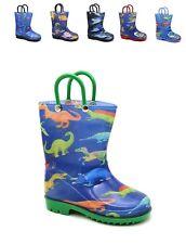Storm Kidz Rain Boots Boys Prints Dinosaurs, Sports & More Toddler to Big Kid