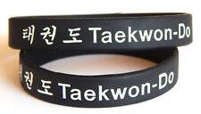 Taekwondo wristband > adult or junior> black belt > martial arts > TKD
