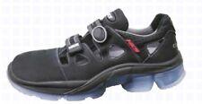 HKS Sicherheits-Schuhe Arbeits-Sandalen S1 CS 10 Leder Ergo Fit schwarz
