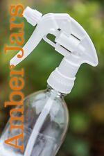 500ml Clear Glass Spray Bottle - Elegant Quality White Canyon Trigger spray