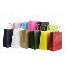 Papel kraft de embalaje para Llevar Bolsas-Ropa de compras Portátil Bolsa De Regalo