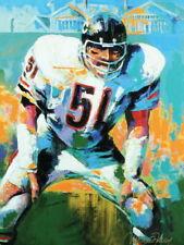 Richard Marvin Dick Butkus Chicago Bears Art Huge Giant Wall Print POSTER