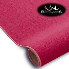 SOFT & CHEAP & QUALITY CARPETS Feltback ETON pink Bedroom Large RUG ANY SIZE