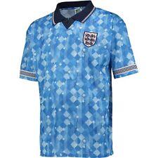 England 1990 World Cup Finals Football Third Retro Shirt Mens