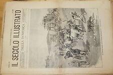 [BTR] IL SECOLO ILLUSTRATO DELLA DOMENICA 1899 509 FAMIGLIE INGLESI A TRANSVAAL