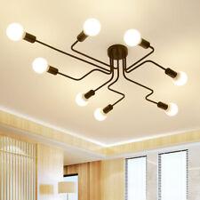 Industrial Retro Steampunk Ceiling Chandelier Indoor Dec Lighting Lamp Fixture
