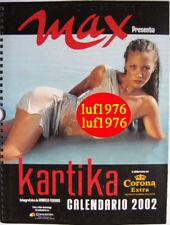 Calendar sexy-KARTIKA LUYET nude-Calendario MAX 2002