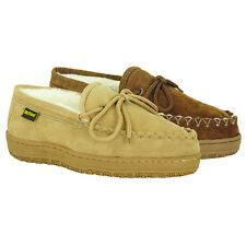 Old Friend Footwear - Womens Plush  Pile lined Moccasin Slipper - Kentucky