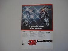 advertising Pubblicità 1977 MOTO MORINI 350