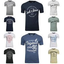 Jack & Jones T-shirt Party Tempo libero shirt grande girocollo maglietta a maniche corte BASIC