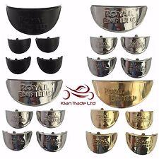 5 Piezas Royal Enfield indicador sombra Visera + cortina de lámpara del faro Visera 7