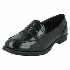filles H3027 MOTIF NOIR Chaussures à enfiler par Spot On détail