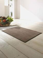 Fußmatte WMK wash + dry Monocolour Taupe in 7 Größen lieferbar