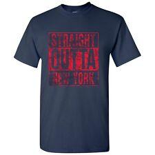 Straight Outta New York - Hometown Pride T-Shirt