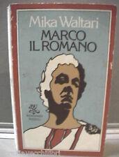 MARCO IL ROMANO Mika Waltari Rizzoli BUR 1979 Storia Antica Latina romanzo di e