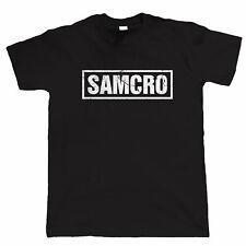 SAMCRO, Mens Biker T Shirt, Motorcycle Club, Charter