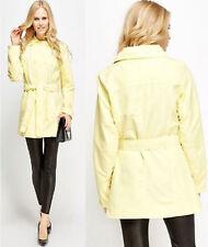 UK Ladies PRIMARK Trench Coat Ladies Mac Belted Cuffs & Waist Lightweight Jacket