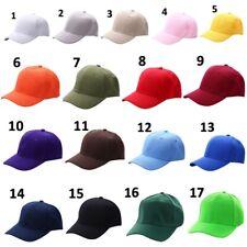 Baseball Cap Blank Plain Solid Sports Visor Sun Golf ball Hat Men Women AU