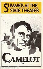 "Richard Burton ""CAMELOT"" Christine Ebersole / Lerner & Loewe 1980 Playbill"