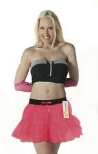 Ladies Hot Pink Tutu with Pink Leg Warmers Dancewear Fancy Dress Two Sizes
