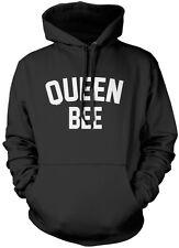 QUEEN Bee-Instagram Tumblr Slogan Felpa Con Cappuccio Unisex