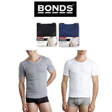 Mens Bonds Original Raglan Tee Crew Neck T-Shirt Short Sleeve Top Cotton MB3937