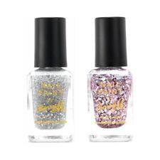 Barry M MakeUp - Jewel Glitter Nail Paint Pink Sapphire Glitter Rose Diamond