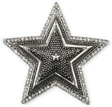 styleBREAKER star magnetic jewellery pendant with rhinestones for scarves