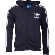 Adidas Originales California Azul Marino Con Capucha Cremallera Completa-entrega libre y rápido