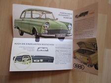 Prospetto originale per 1960 DKW Junior