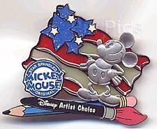 Disney Mickey's Star Spangled Artist Choice Pin