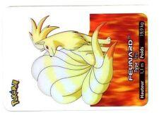POKEMON LAMINCARDS CARTE CARD 038 FEUNARD NINETALES