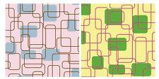 "Random Square Printed Tissue Paper 20 x 30"" 500 x 750mm 18gsm"