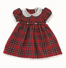 Baby Girls Scottish Royal Stewart Tartan Highland Dress