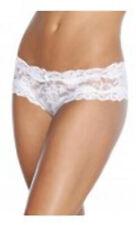 Coquette 142 - Floral Print Lace Crotchless Panty