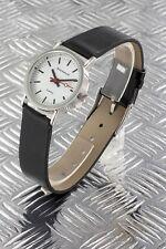 orologio ferrovia bracciale pelle donna b751