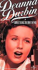 VHS Something in the Wind: Deanna Durbin Donald O'Connor John Dall C Winninger