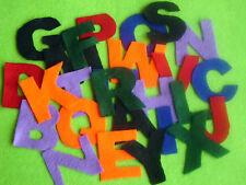 26 Felt Alphabets letter felt craft story TEACHER RESOURCE scrapbooking kids
