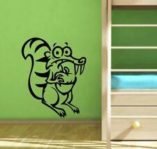 Wandtattoo Wandbild Aufkleber Kindermotive  Eichörchen Scrat aus ICE AGE
