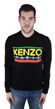 Kenzo F855PU2273LD.99 Black Crew Neck Sweater