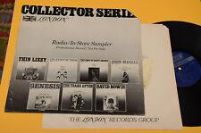 GENESIS SAVOY BROWN TEN YEARS AFTER..LP PROG COMPILATION ORIG 1977 PROMO