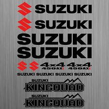 SUZUKI KINGQUAD 450 AXi sticker quad ATV 14 Pieces