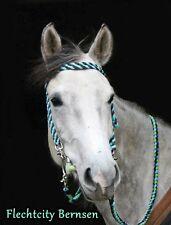 Trense geflochten Westerntrense aus 24 Farben  Zügel Flechttrense Pony, Pferd