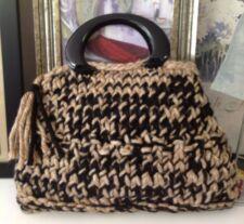 Hand Knit Handmade Purse Designer Fashion Stylish Handbag