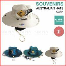 1edb4a1e768 Australian Souvenirs Cork Hat Wide Brim Aussie Day Camping Safari Crocodile  Gift