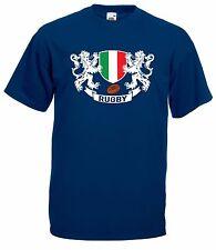 T-shirt Maglietta J1662 Italia Rugby Sei Nazioni Maglia Nazionale Terzo Tempo