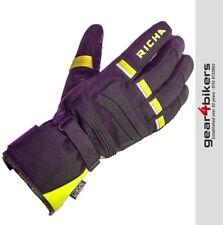 Richa Peak Fluo Waterproof Glove Black Motorcycle Scooter Gloves Flo Hi-Viz